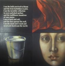 Oil on canvas.